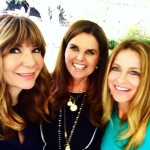 WITH MARIA SHRIVER and ANA GARCIA