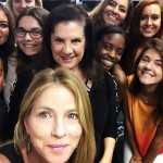 WHO SAYS I LIKE SELFIES?  With my class & super agent guest speaker  BABETTE PERRY