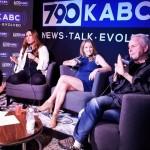 With Steve & Jill at KABC